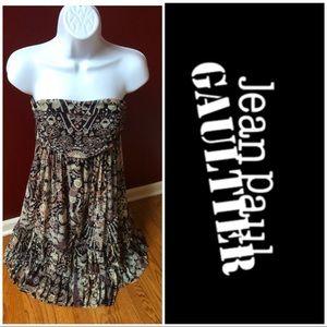 Jean Paul Gaultier bandeau dress